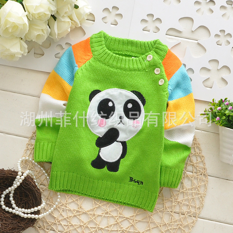 66d9bd03f96f baby knitted sweater clothing children s casual pullover jacket boys ...