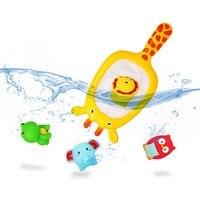 水の赤ちゃん風呂のおもちゃゴムアヒル浴室おもちゃフローティング魚用子供シャワーメッシュおもちゃ子供13から24ヶ月