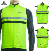 Racmmer 2017 Windstopper Sleeveless Cycling Jersey Clothing Bicycle Bike Windproof Reflective Maillot Chaleco Ciclismo WX 05