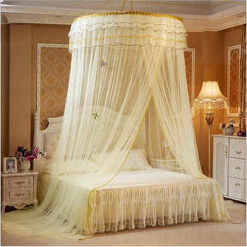 Round Hung Dome Mosquito Net Fine Mesh Mosquito Nets for Double Bed Mosquito Netting For Baby Bed Tent Bedroom decor Canopy Net