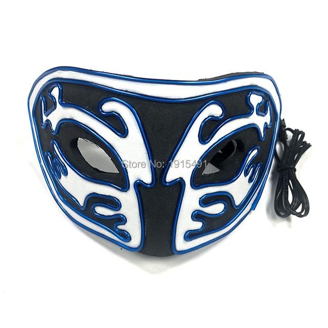 Новое поступление светящаяся маска из ЭВА со светодиодной подсветкой