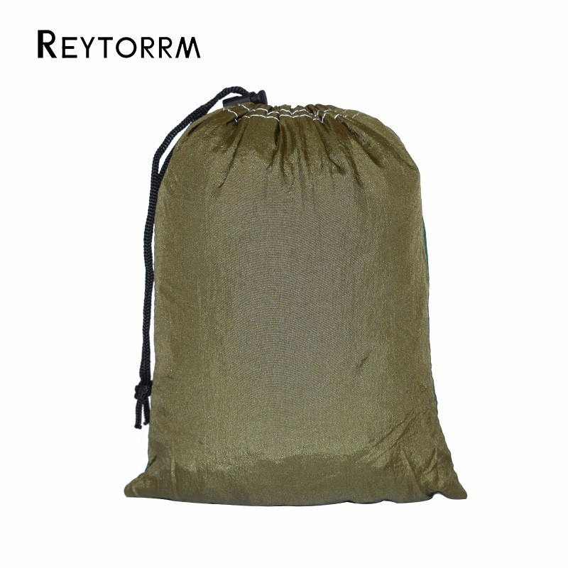 1 Person Parachute Hammock For Single Outdoor Hunting Survival Portable Hamac Garden Yard Patio Leisure Hanging                  2