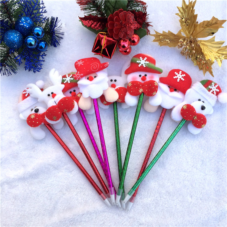 3pcs / lot Korea Hot Item Christmas cartoon ballpoint old head ...