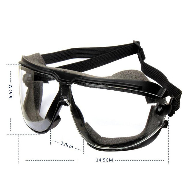 3m 16618 aos dust goggles safety glasses anti fog smoke and sand