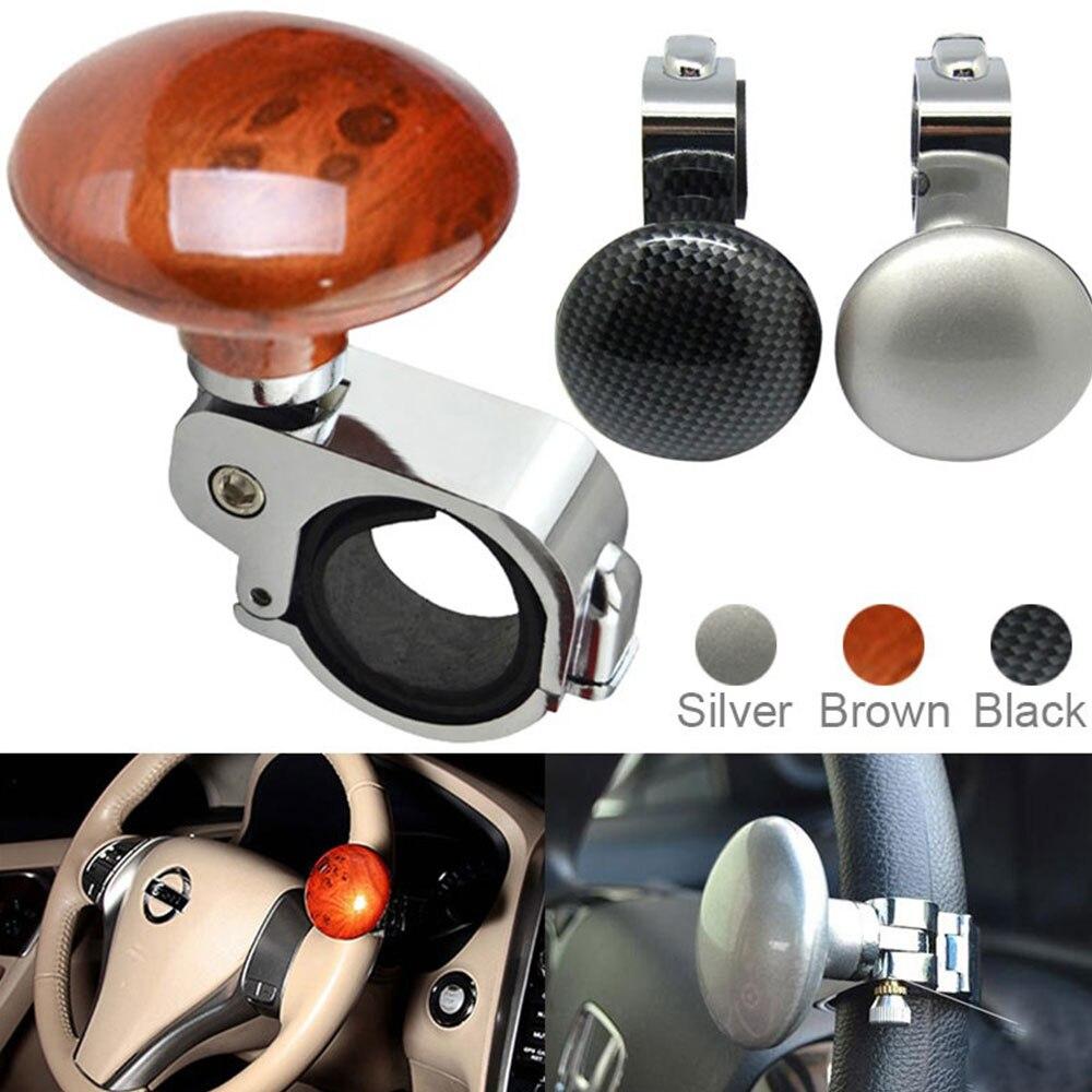 Vehemo Universal Car Steering Wheel Spinner Knob Power Handle Ball Hand Control Ball Booster Wheel Strengthener Knob Ball