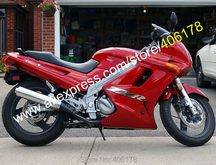 Hot sales,all red plastic motorcycle fairing kit for kawasaki zzr-250 90-07 zzr250 zzr 250 1990-2007