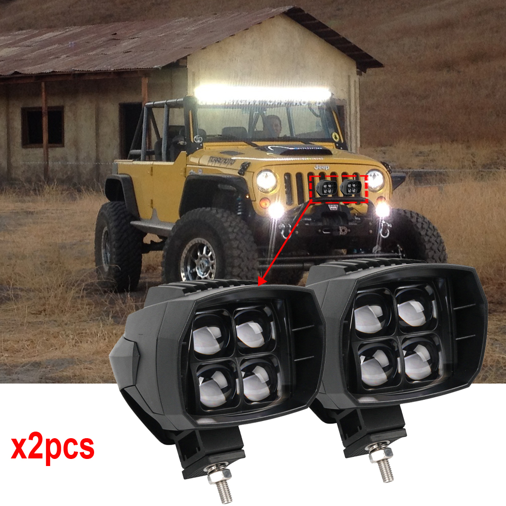 40W led headlight 5w 5inch New Led Driving Light 12V 24V High Beam Low beam led fog light used for car truck suv atv marine x2pc 5inch new led driving light 40w led headlight low beam lamps for car truck suv atv marine new external light x2pcs free shipping