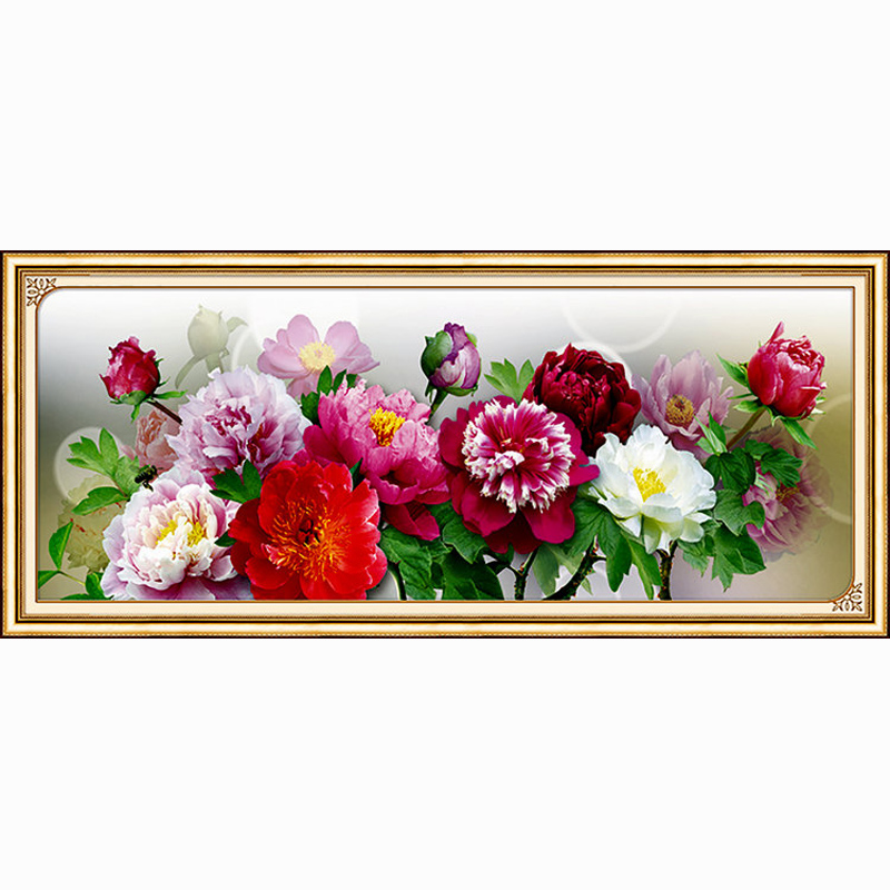 2016 chinese peony trends 5d diy diamond embroidery Diy home decor trends 2016