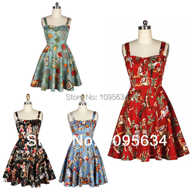Online Buy Wholesale vintage western dress from China vintage ...