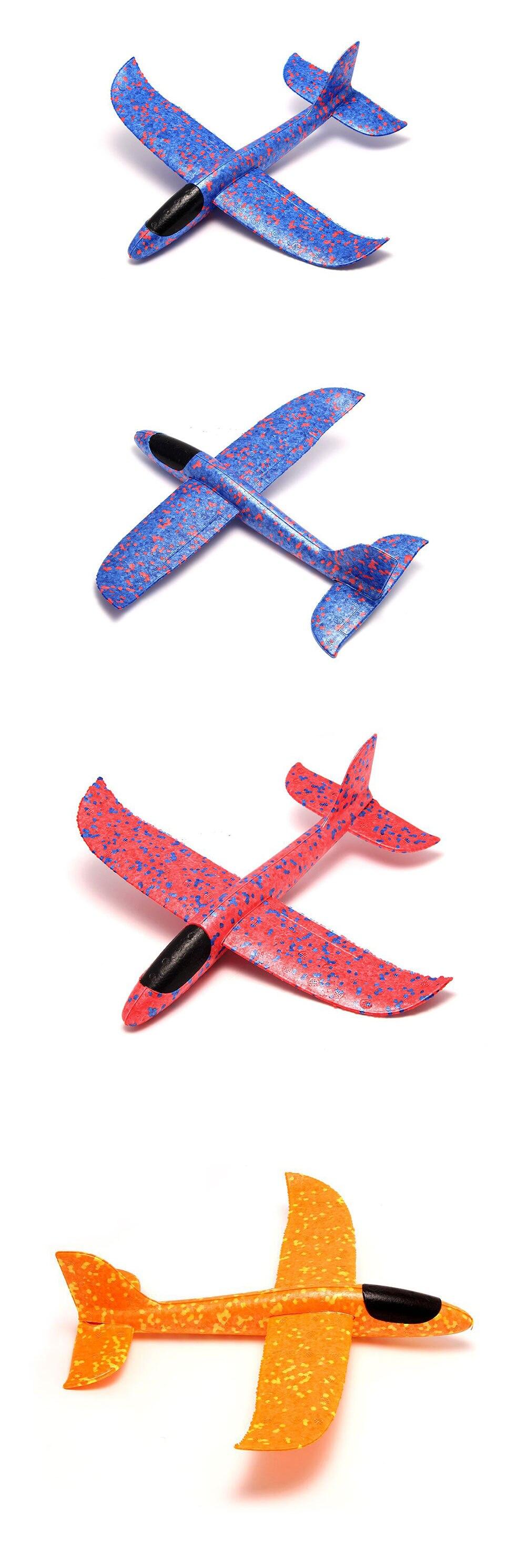 DIY детские игрушки ручной бросок Летающий планер самолеты пенопластовый самолет модель партии мешок наполнители Летающий планер самолет игрушки для детской игры