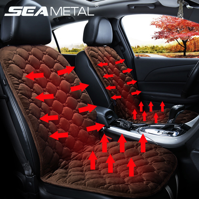 Cushion Universal Heating-Pads Winter Automobiles-Cover Back-Seat Auto-Accessories Electric-Goods