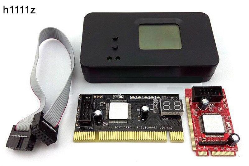 Desktop Laptop Debug DiagnosticPCI/Mini PCI-E/LPC PCI/Mini Test Postkarte Neue-R179 Drop Shipping