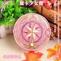 Japón bolsa de Anime Sakura Kinomoto Estrella Anime Card Captor Sakura Clow Larga Zip Mujeres Cartera Monedero Bolsa de Cosplay