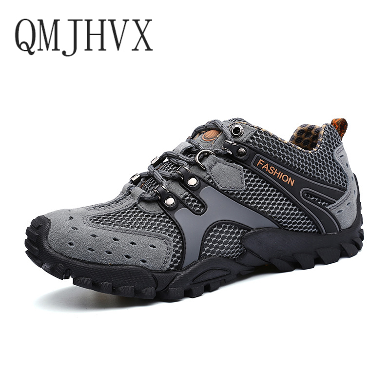 Temperate Summer Mens Outdoor Tracking River Shoes Breathable Quick-drying Shoes Men And Women Casual Tenis Masculino Shoes Direct Sales Back To Search Resultsshoes