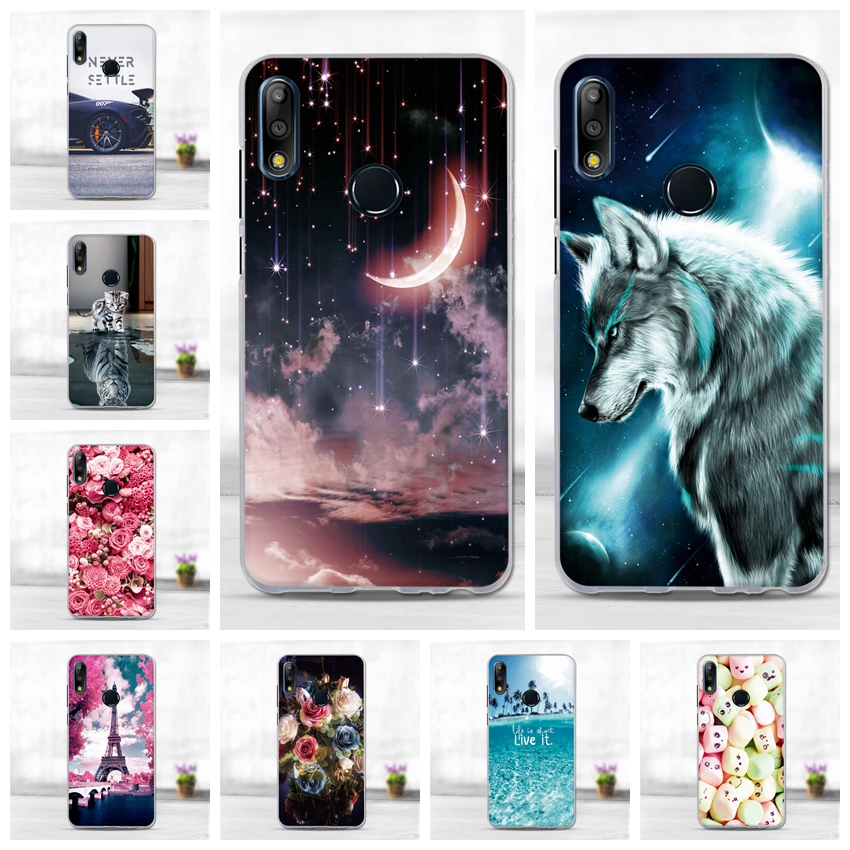 Case For Asus Zenfone Max M2 ZB633KL Case Animal Pattern Soft TPU Cover For Asus Max Pro M2 ZB631KL Phone Cases Coque Fundas