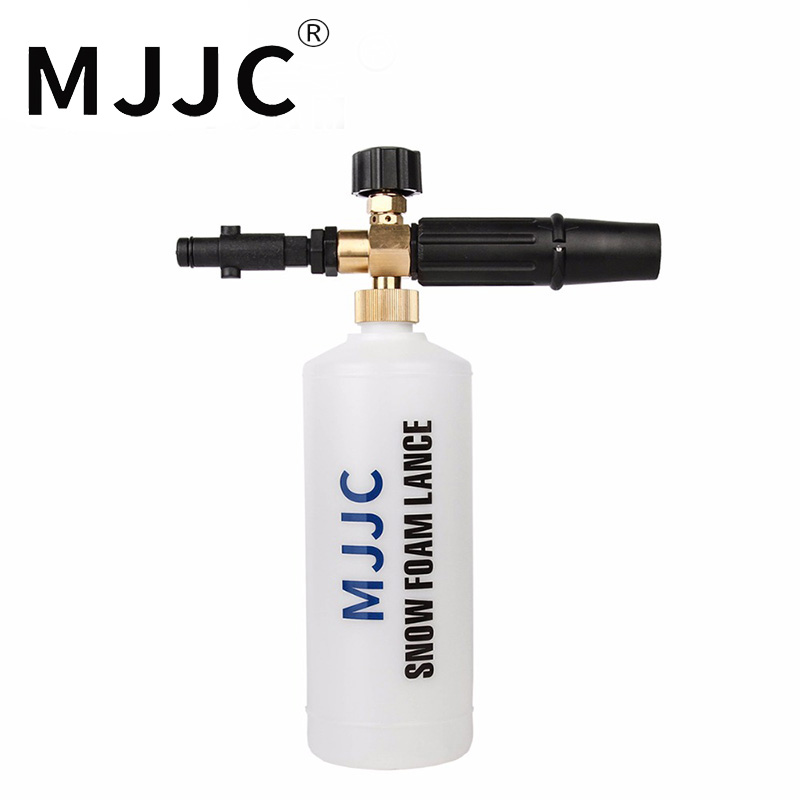 MJJC Estrenar Foam Lance Redondeada Montaje para Nilfisk Nilfisk, Gerni, Arandelas de Presión Stihle Nuevo tipo nieve lanza espuma 2017