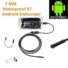 Новинка 1,5 m для Android iPhone 7 мм эндоскоп Водонепроницаемый Бороскоп Инспекционная камера 8 светодиодный длинный эффективный фокусное расстояние DFDF