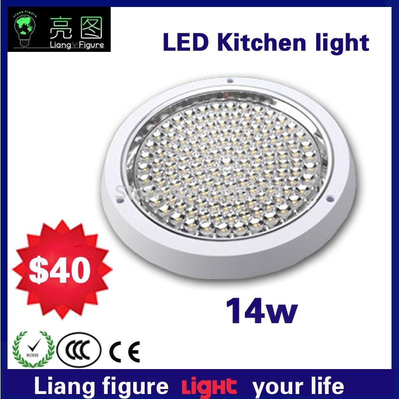 14 Вт LED Кухня площадь открытым Установка светодиодный потолочный светильник белый/теплый белый светодиодный светильник для гостиной