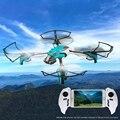 2016 Diseño Modular KaiDeng PANTONMA K80 Con 6 Axis Gyro Drone Cepillado Motor de Alta Defintion Quadcopter DEL Helicóptero de RC