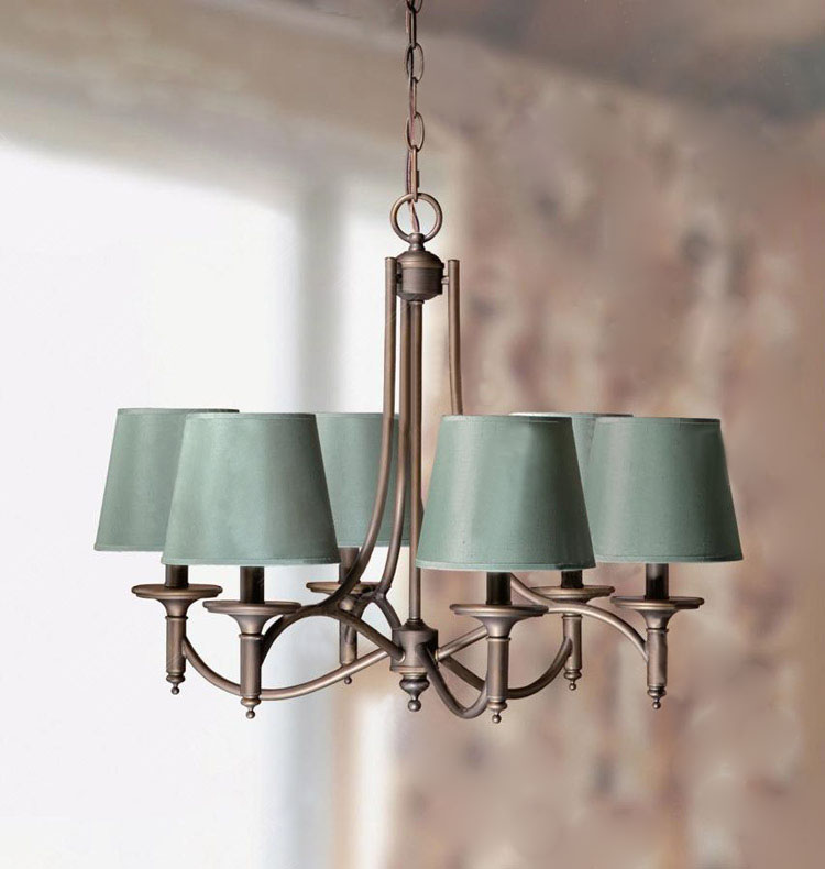 Multiple Chandelier  Lights Continental rural contracted wall mirror light aisle floor foyer aisle lights bedroom post ZA ZX149