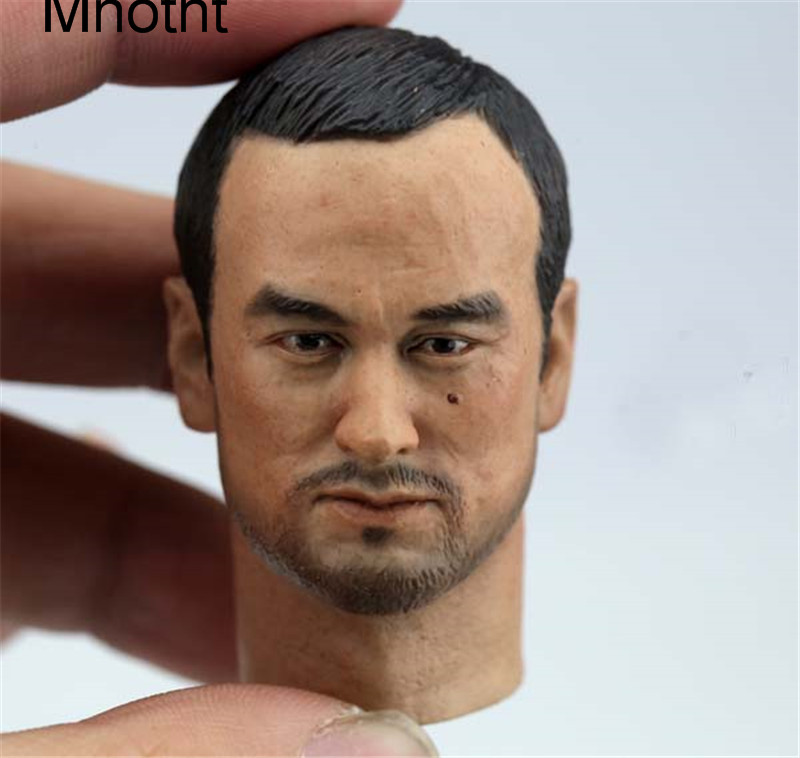 Mnotht 1/6 Male Solider Ken Watanabe Head Sculpt Inception Asian Head Carving For 12in Action Figure  Toys l31 ken browne sociology for as aqa