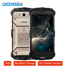 IP68 DOOGEE S60 Smartphone Android 7.0 Wireless Charge Octa Core 6GB 64GB 21MP 12V 2A 5580mAh 5.2″FHD Waterproof 4G Mobile Phone