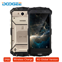 IP68 DOOGEE S60 Smartphone Android 7 0 Wireless Charge Octa Core 6GB 64GB 21MP 12V 2A