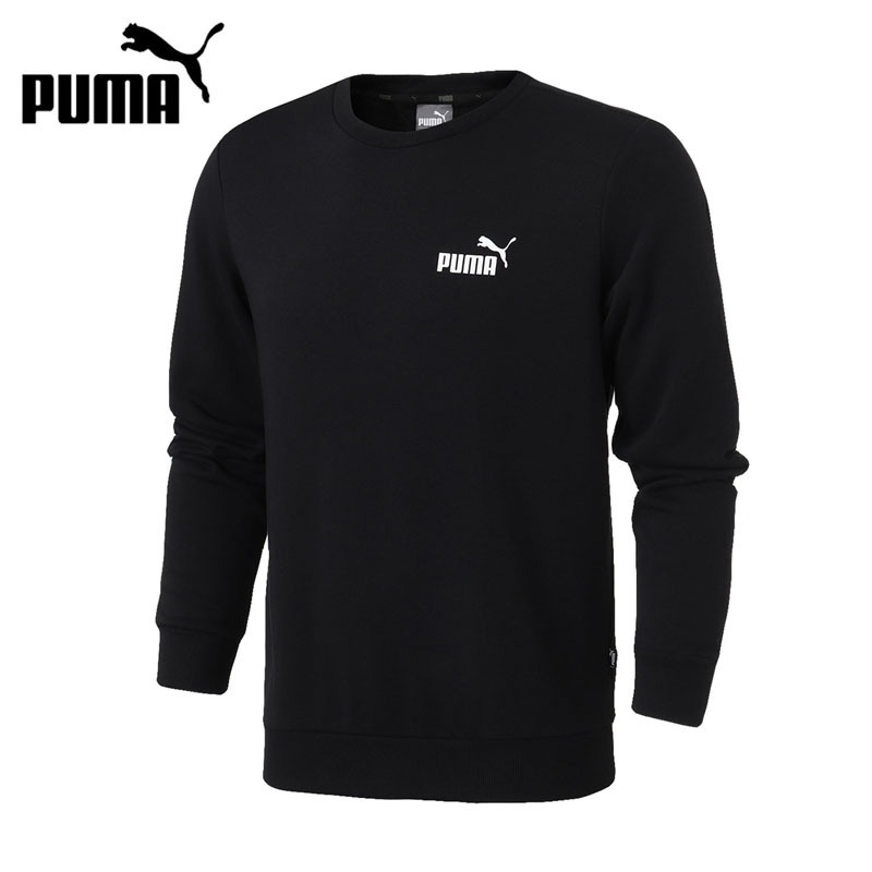 Original New Arrival 2018 PUMA ESS Logo Crew Sweat Men's Pullover Jerseys Sportswear original new arrival 2018 puma ess sweat shorts 9 men s shorts sportswear