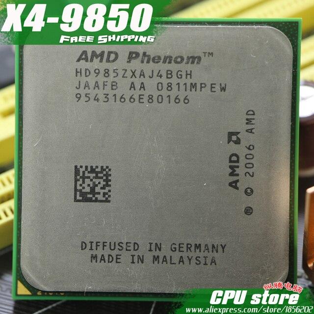 amd phenom 9850 quad-core processor 2.5ghz