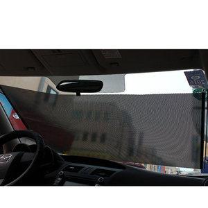 Image 5 - Gspscn 개폐식 자동차 앞면 뒷면 창 차양 pvc 자동 창문 차양 방지 자외선 차단 태양 바이저