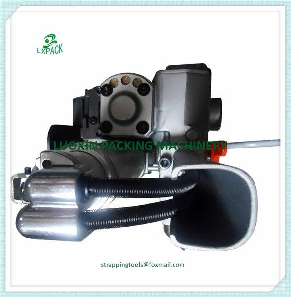 XQD-19 XQD-25 AQD-19 AQD-25 Pneumatique PP En Plastique PET Cerclage Machine outil pneumatique à main pour 13-25mm ou 19 -25mm (Tension> = 3500N)
