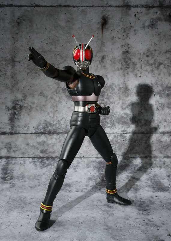 Image 3 - PrettyAngel   Genuine Bandai Tamashii Nations S.H.Figuarts Masked Kamen Rider Black Action Figurebandai tamashii nationsaction figurekamen rider black -