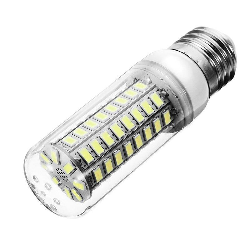 Самые низкие цены 5730 SMD 72 светодиоды Светодиодные лампы накаливания E27 E14 Чистый теплый белый Светодиодная лампа люстра украшение дома освещ...