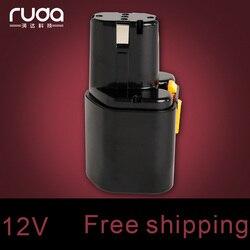 Dla Hitachi Hit 12V 1500mAh elektronarzędzia akumulator Ni MH EB 12 EB 1224 FEB 12 FEB 12S 300002 300003 300004 302758 310378 310453