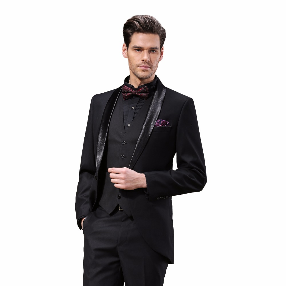 Aliexpress.com : Buy Brand DAROuomo Groom Wear Tuxedos Groomsmen ...