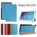 Ultra Slim Легкий SmartCover Чехол Для 2015 Выпущен Samsung Galaxy Tab E 9.6-Дюймовый SM-T560/SM-T561 Tablet