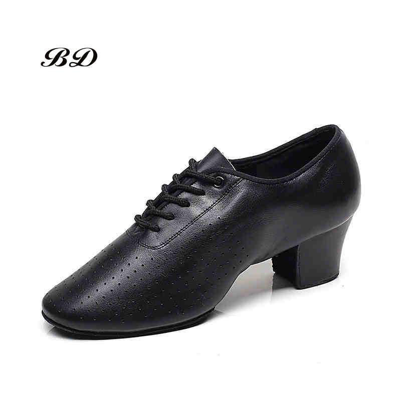 أكسفورد القماش اللاتينية الرقص أحذية رياضية النساء أحذية الجاز حذاء حديث عدم الانزلاق لينة وحيد جلد طبيعي الرقعة كعب 5 سنتيمتر الانزلاق حتى