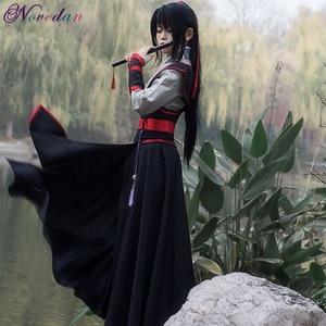Image 2 - Anime Dao Mo To Shi Cosplay Wei Wuxian Jiang Cheng Costume Grandmaster of Demonic Cultivation Mo Dao Zu Shi Cosplay Costume Men