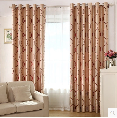 New 2016 Thick Vertical Stripes Curtain Of The Sitting Room Blackout Curtains Bedroom Window Treatment