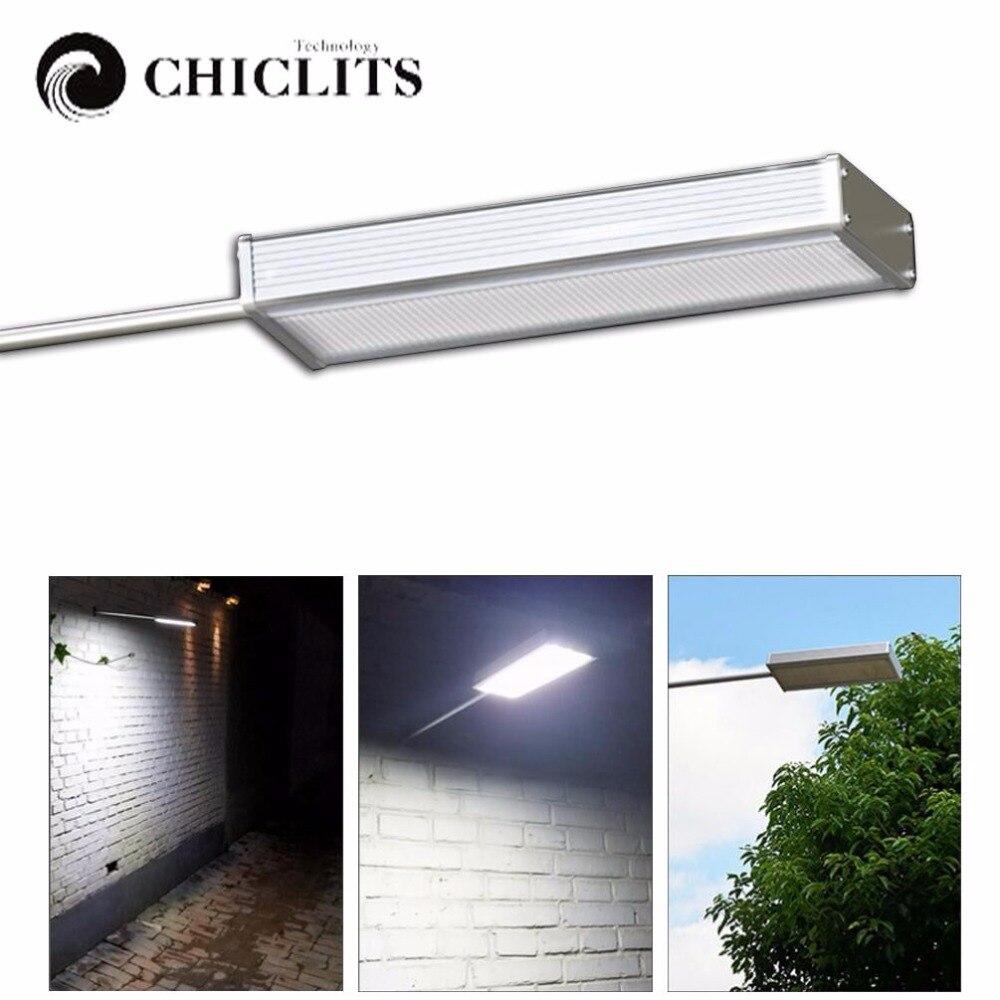 Chiclits Solar 48 LED Lamp With Radar Motion Sensor 100W ...