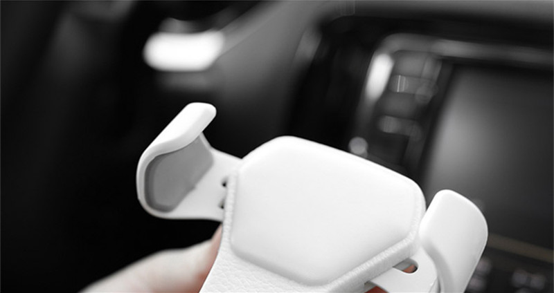 HTB1FxyKKf9TBuNjy1zbq6xpepXaB - Car Phone Holder For Phone In Car Air Vent Mount Stand No Magnetic Mobile Phone Holder Universal Gravity Smartphone Cell Support