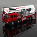 The Fire Truck alloy Engineering Aerial Vehicle Simulation Model 1:50 Children Toy Birthday Present Christmas Gift