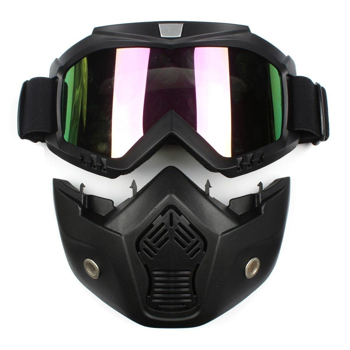 Prix pour Ski Skate Moto Goggle Motocross Lunettes Casque Lunettes Coupe-Vent off Road Moto Casques Cross Masque Lunettes