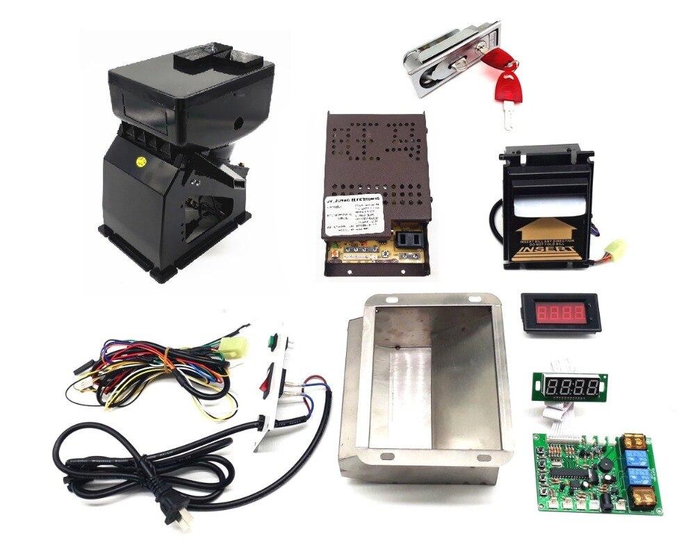 1 kit AC220V USD VND PHP MYR zambie accepteur de billets de banque à jeton avec carte de contrôle de JY 142 pour changeur de pièces-in Pièces de rechange et accessoires from Electronique    1