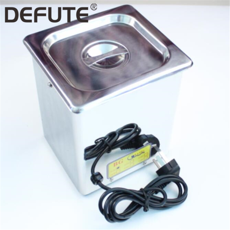 Deisel Common Rail Fuel Injector Steel Ultrasonic Tank Cleaning Machine For Injector Pump Parts Nozzles Valves Cleaner
