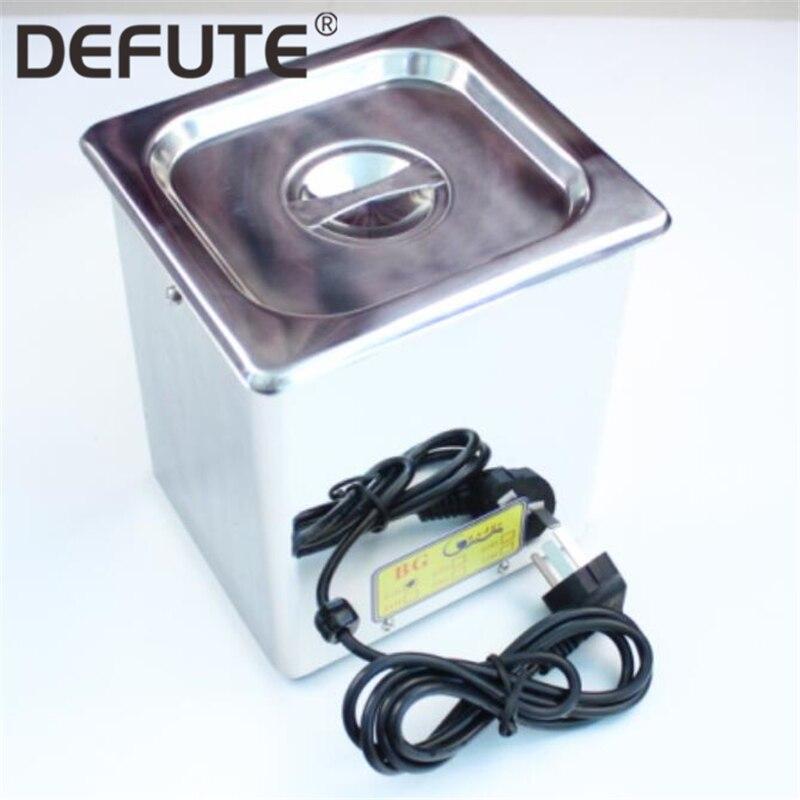 Machine de nettoyage de réservoir ultrasonique en acier d'injecteur de carburant de Rail commun de Deisel pour des pièces de pompe d'injecteur