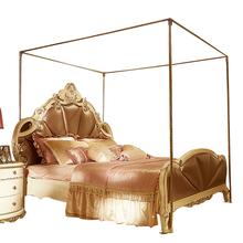 Pałac moskitiera wspornik ze stali nierdzewnej stosuje się 1 5 m 1 8 m 2 m łóżko pościel zestaw dekoracji pokoju tanie tanio STAINLESS STEEL Camping Podróży Military Domu OUTDOOR Owadobójczy traktowane Llin 034-wzkj IvaRose HOME TEXTILE Dorosłych