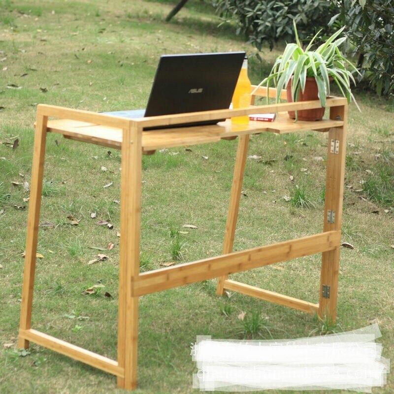 bureaux d ordinateur commercial mobilier de bureau a domicile bureau d ordinateur portable en bambou 100 50 81 cm chaud toute vente 2016 peut personnaliser