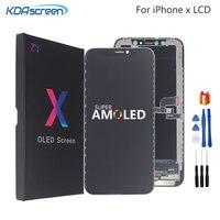 Voor Iphone X Lcd Xs Xr Lcd Display Hoge Kwaliteit Amoled Flexibele Stijve Harde Voor Iphone X Xs Xr Display zachte Scherm Lcd 3D Touch
