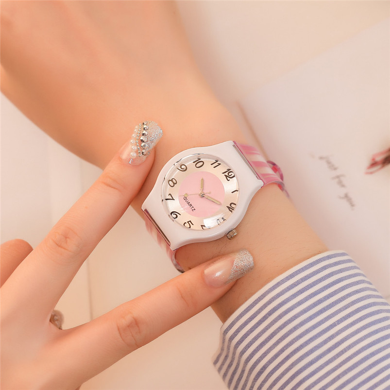 Silicone Wristwatch Women Watches Simple Fashion Quartz Watch for Ladies Female Clock Montre Femme Relogio Feminino 5N стоимость